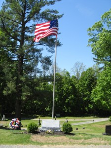 Veterans' Memorial, erected 2009